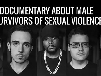 In the film, five men discuss their experiences with sexual violence.