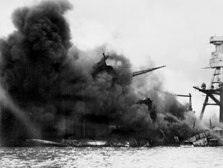 76 years ago on December 7th, Pearl Harbor came under attack. Photo Courtesy Wikimedia.