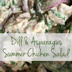 Dill & Asparagus Summer Chicken Salad Recipe