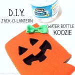 D.I.Y. Water Bottle Halloween Koozie Tutorial
