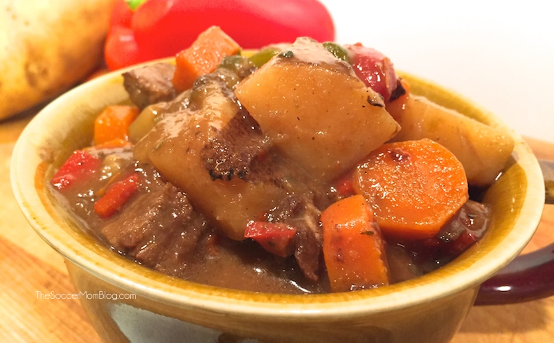 Classic Carne Guisada (Mexican Beef Stew) - The Soccer Mom Blog