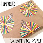 EASY Upcycled Wrapping Paper — From Your Kitchen!