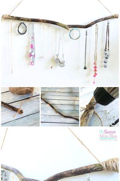 DIY Boho Jewelry Holder