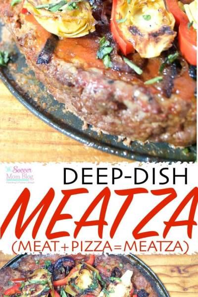 Deep Dish Meatza Paleo Pizza