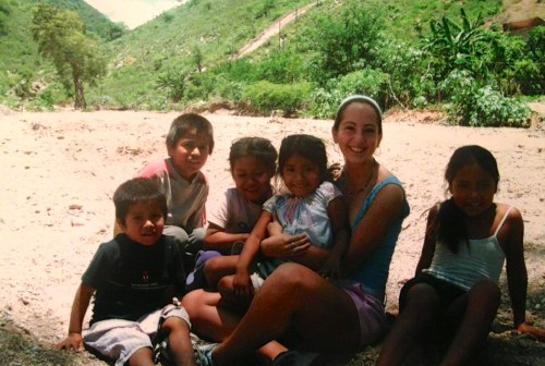 Picture from my favorite trip of the summer to a village in the mountains where we painted an orphanage!