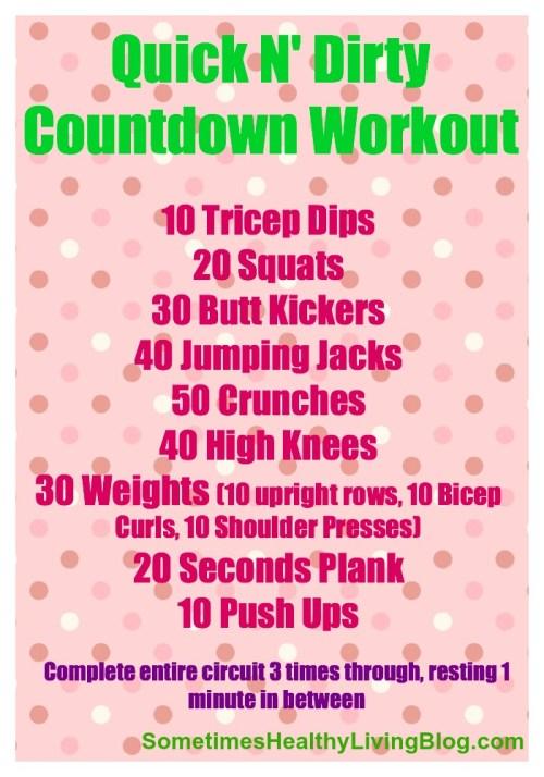 WIAW Workout