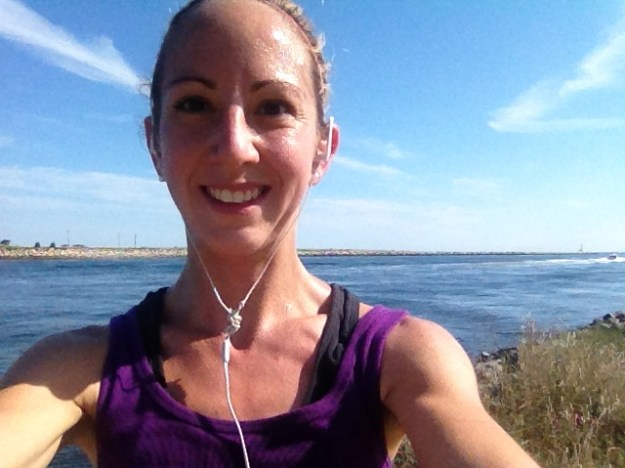 Running on the Cape! #happyasaclam