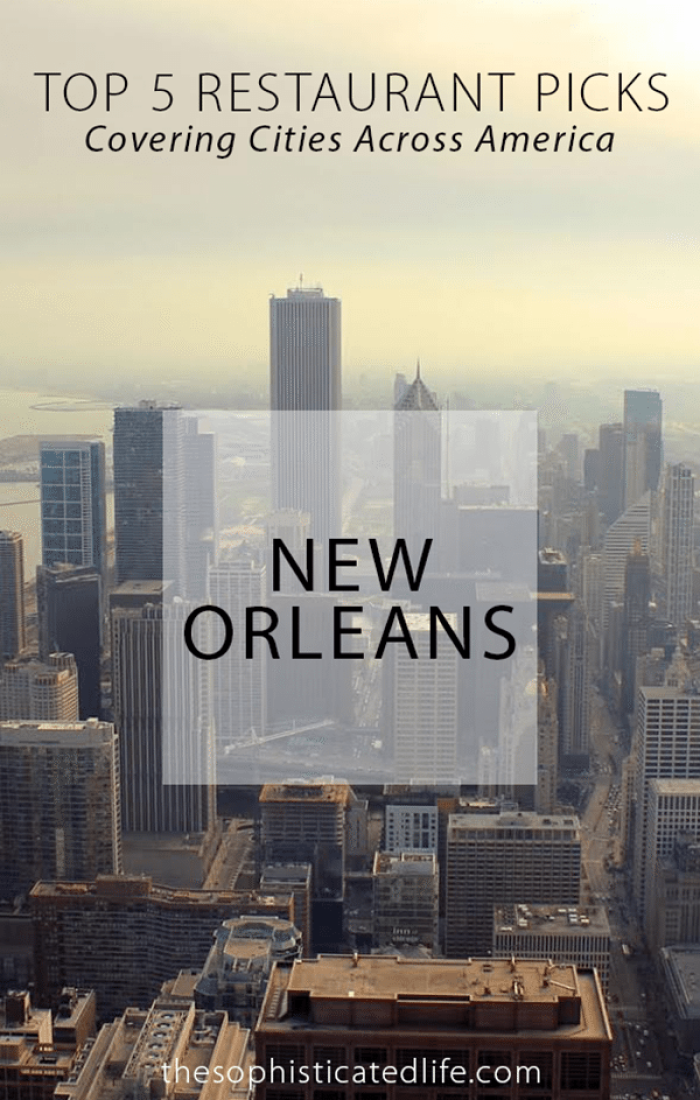 """A New Blog Series! """"Top 5 Restaurant Picks"""" covering cities across America! New Orleans Louisiana is a huge foodie town! Read where and what you should eat on your visit to NOLA!"""