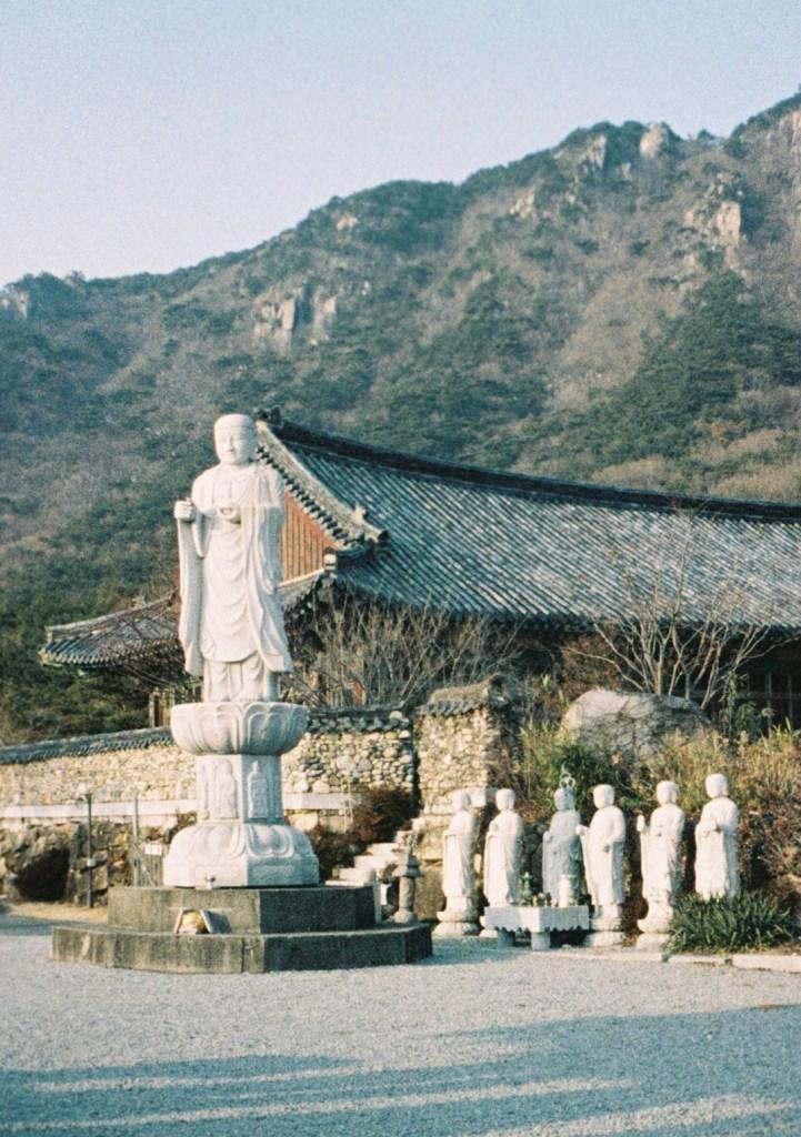 Fujica Film: Korean Temple