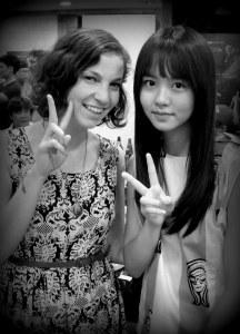 Me with Kim So Hyun