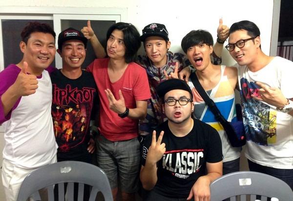 August On The Go: Busan Rock Festival; ESD & Reflex