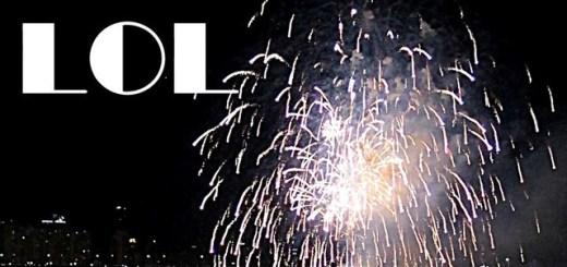 LOL Fireworks Funny Korean Language