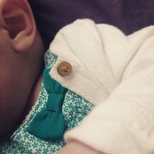 April On the Go: baby bows