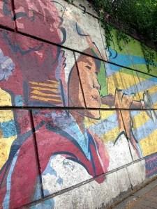 Mapo-gu, Seoul, Mural