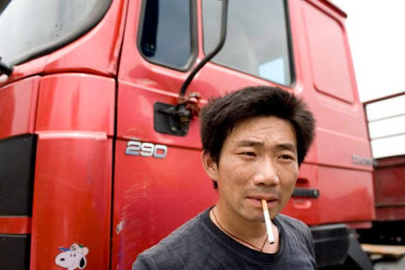 Chinese truck driver -J. Hayes