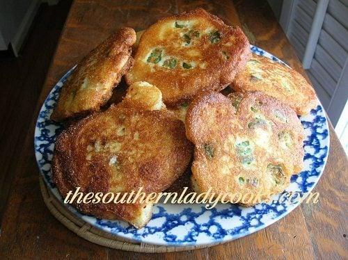 Okra Fritters - TSLC