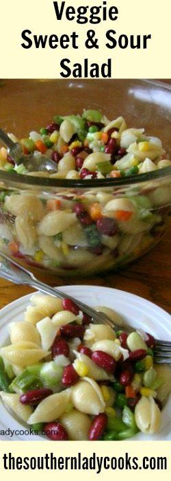 veggie-sweet-sour-salad