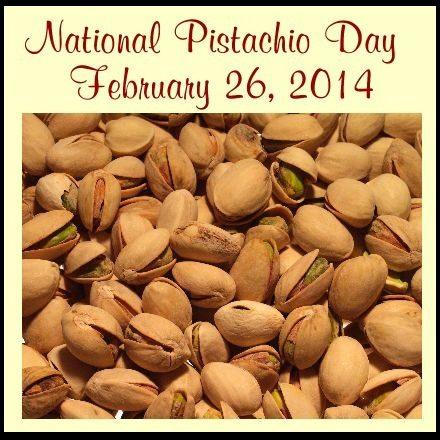National Pistachio Day!