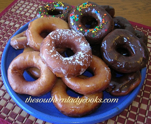 Homemade Glazed Donuts - TSLC