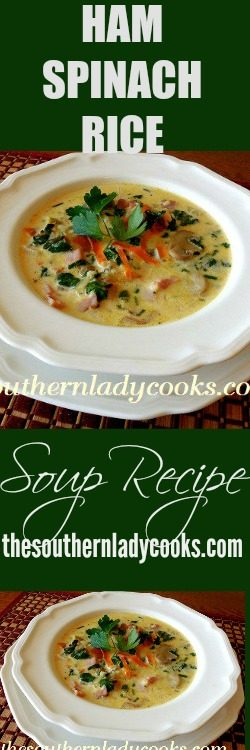 ham-spinach-rice-soup