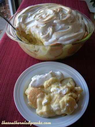 Old-Fashioned Banana Pudding TSLC