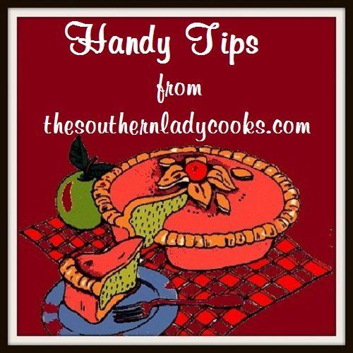 Handy Food Tips - Copy