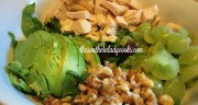 CHICKEN AVOCADO SALAD – LIGHT RECIPE