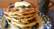SOURDOUGH BLUEBERRY BUTTERMILK PANCAKES