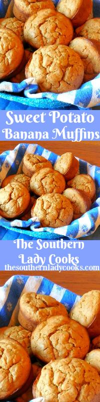 the-southern-lady-cooks-sweet-potato-banana-muffins