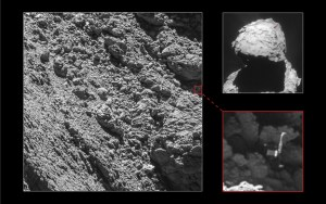 Philae craft found on comet