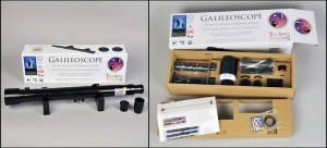 The Galileoscope Telescope kit. Courtesy Galilescope, LLC.