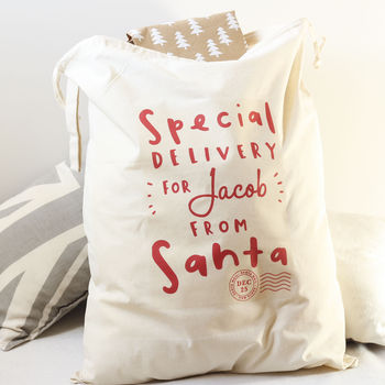 Personalised Gift Sack