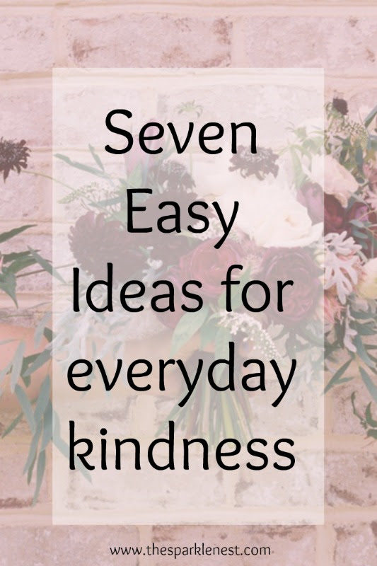 Ideas for everyday kindness