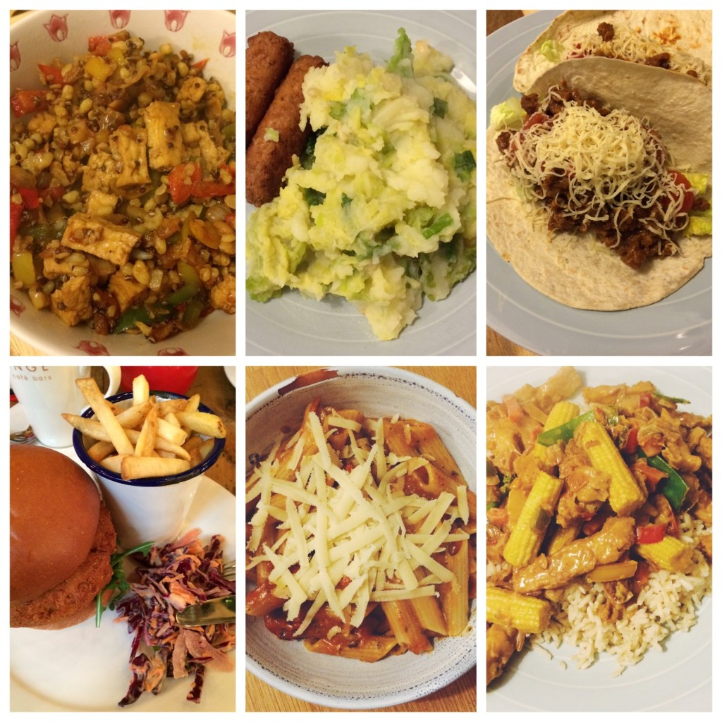 Seven Days of Easy Vegan Meals