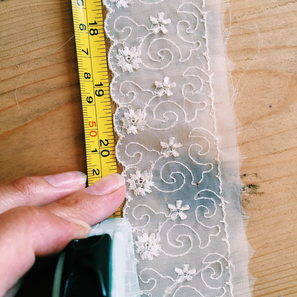 Rustic Lace Garland