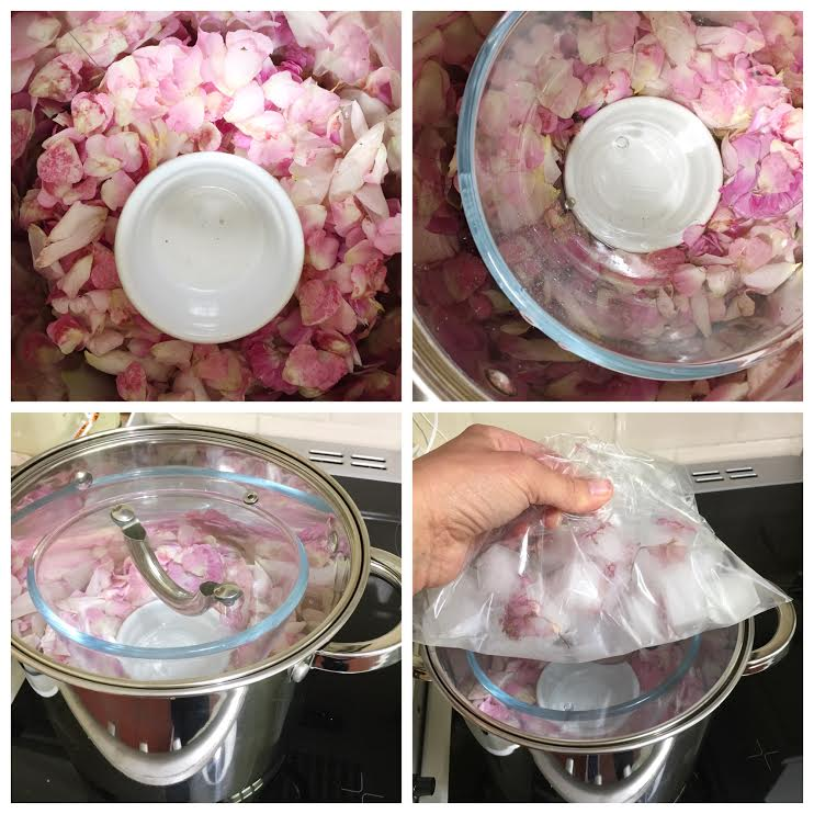 Making rose water
