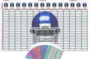 2016 – 2017 Fantasy Football Draft Kit $20 Shipped (Regular $29.99)