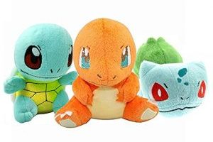 3 Piece Pokemon Plush Animals $7.94 Shipped (Regular $10.99)