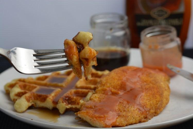 Chicken and Waffles – Taste of Belgium Copycat Recipe