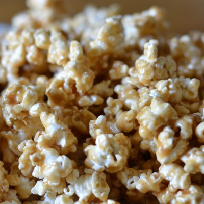 Gooey, Chewy Homemade Caramel Popcorn