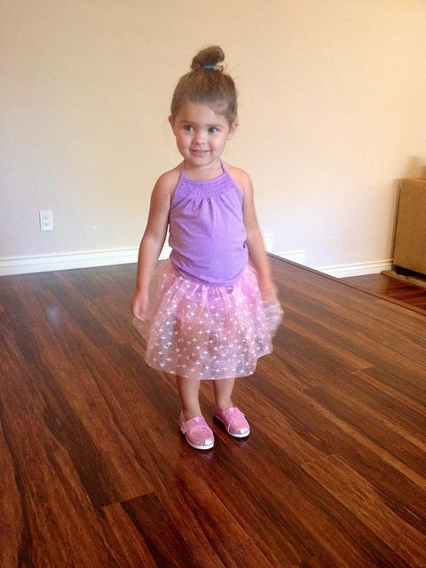 Pink Ballerina Shoes