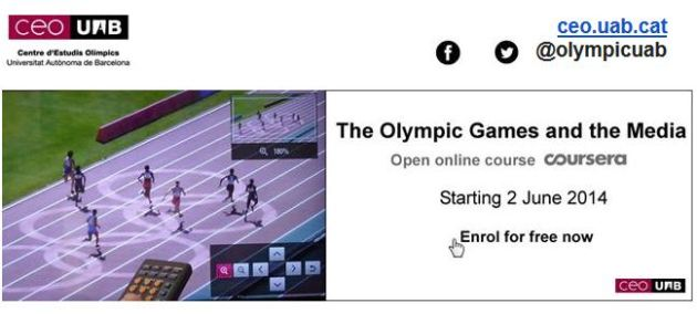 Coursera Online Olympic Course