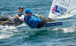 Thompson Takes Second Straight Laser World Championships Title