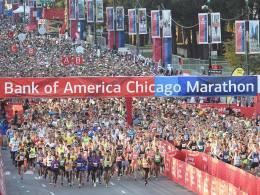 The 2015 Chicago Marathon. Photo: Bank of America Chicago Marathon/Facebook.
