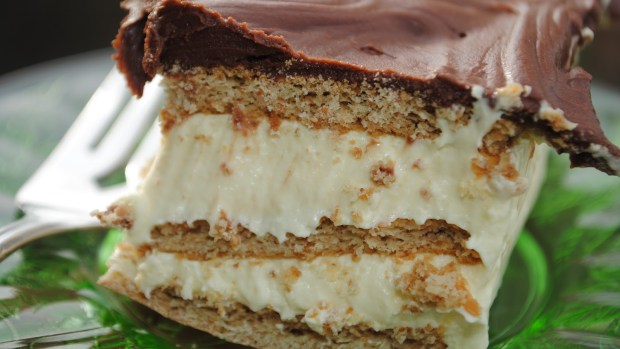 No Bake Eclair Cake The Squishy Monster