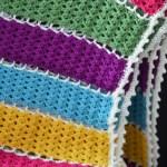Jeweled Lattice Afghan – Free Pattern