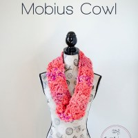 Crochet Mixed up and Twisted Mobius Cowl