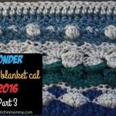 Wonder Crochet Blanket CAL Part 3