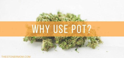 Reasons why parents use pot