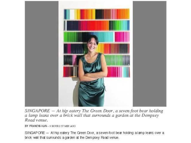 The Green Door as featured in TODAY newspaper